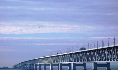 関西国際空港連絡橋(スカイゲートブリッジR)