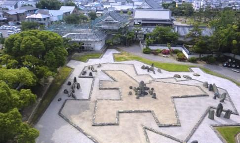 岸和田城庭園八陣の庭