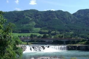 三日月の滝公園(三日月の滝温泉)