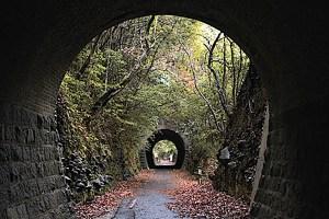 旧耶馬渓鉄道一号厚ヶ瀬トンネル・二号厚ヶ瀬トンネル