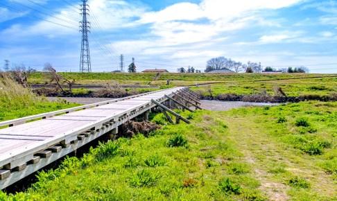 島田橋(潜水橋)