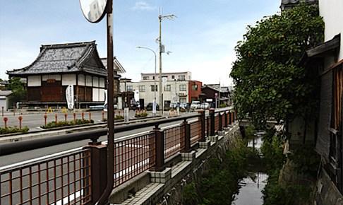長浜城外堀跡