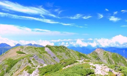 中岳(荒川岳)
