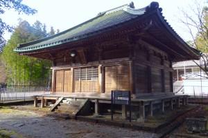 四本龍寺・観音堂
