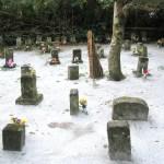 新島・流人墓地
