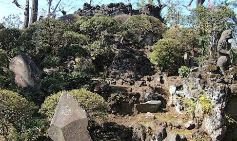 豊島長崎の富士塚(富士浅間神社)