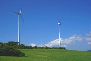 稲葉山風力発電所(稲葉山牧場)