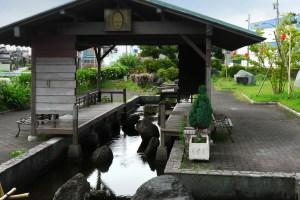 名水公園の清水(くろべ名水公園)