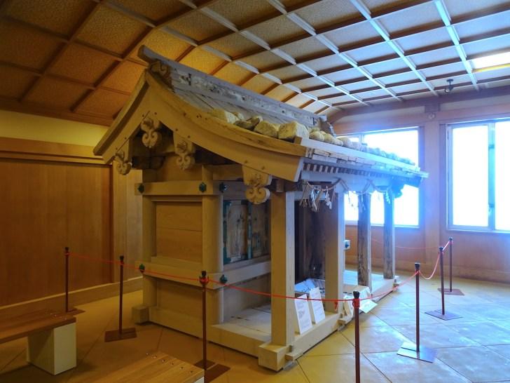 雄山神社本社旧拝殿