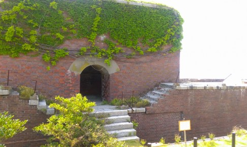 友ヶ島第二砲台跡