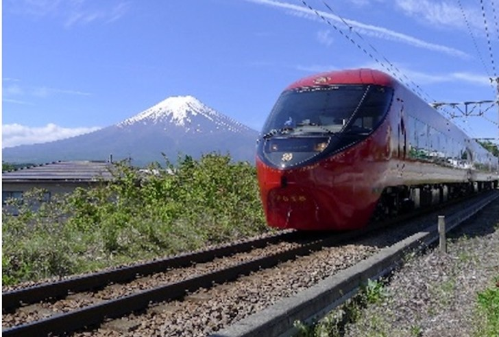 富士急行線「富士山ビュー特急」