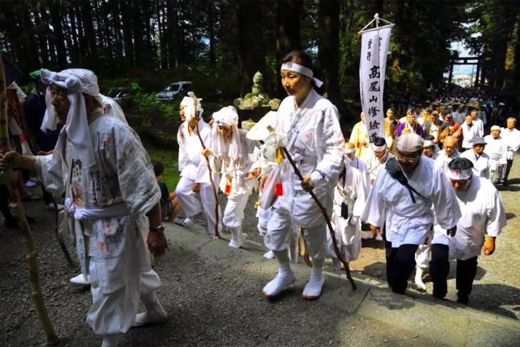 富士山開山前夜祭