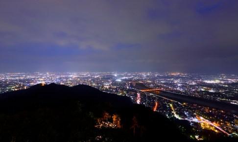 岐阜城パノラマ夜景