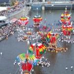 風治八幡神社『川渡り神幸祭』|田川市