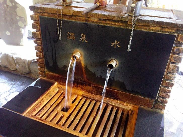伊香保神社のさらに上部に源泉が
