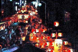 揖夜神社『穂掛祭』