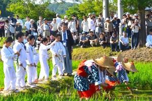 慶徳稲荷神社『御田植祭』