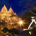 金沢城・兼六園ライトアップ~冬の段~
