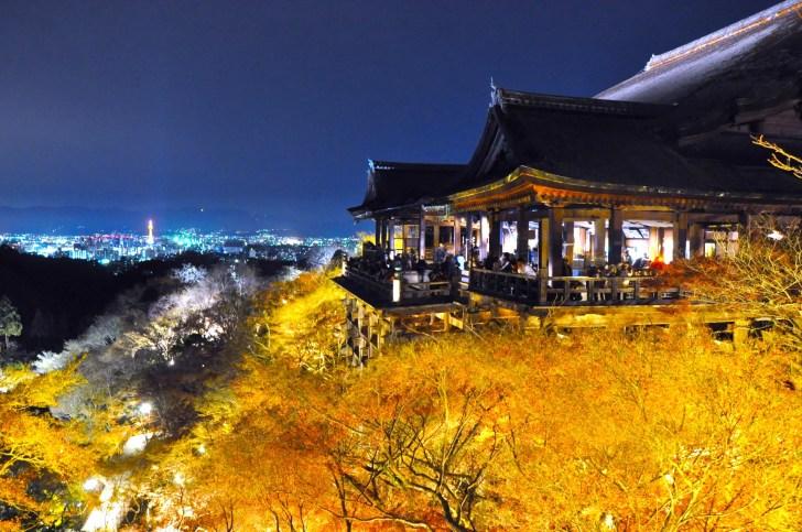 清水寺『夜の特別拝観・秋』