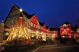 神戸布引ハーブ園/ロープウェイ『古城のクリスマス』