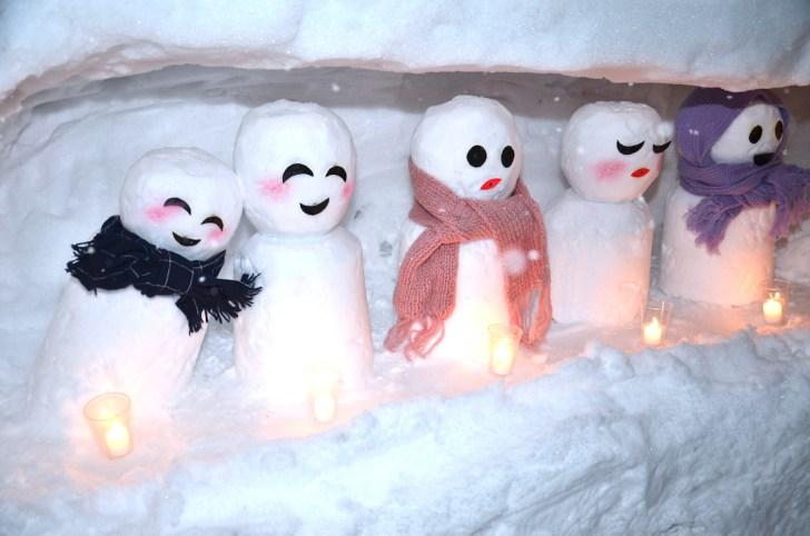 桑島雪だるままつり