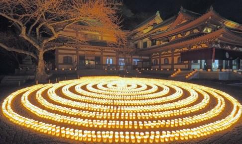 長谷寺『万灯祈願会』(鎌倉市)