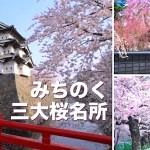 みちのく三大桜名所