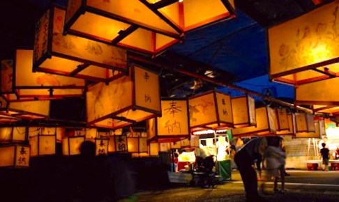 都城六月灯おかげ祭り