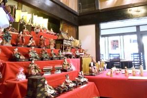 盛岡町家旧暦の雛祭り
