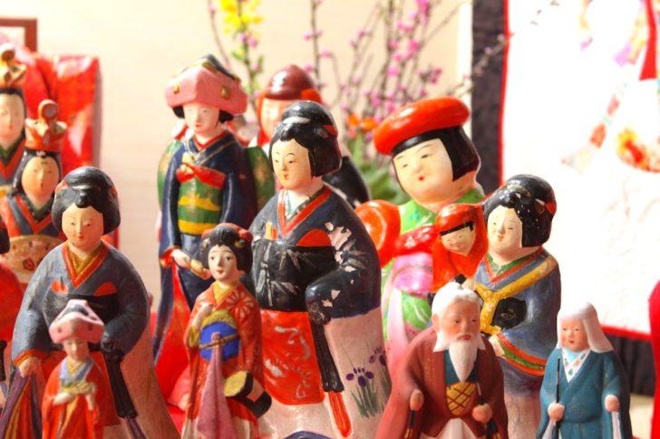 城下町村上 町屋の人形さま巡り