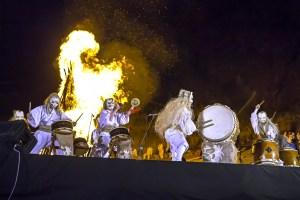 那須温泉神社・御神火祭
