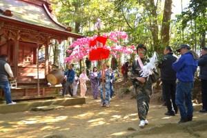 稲生神社『亀崎の如意輪参り』