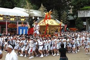 大阪天満宮『天神祭』