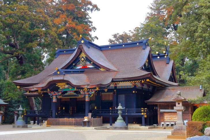 香取神宮の拝殿