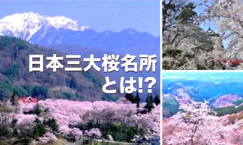 日本三大桜名所