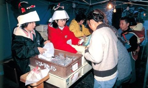 吉岡八幡神社『島田飴まつり』
