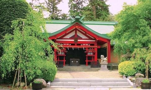 新橋浅間神社で『富士山(御殿場口)開山式』|御殿場市
