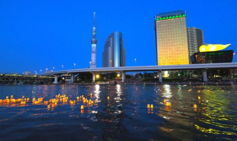 隅田川とうろう流し