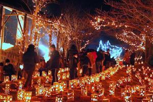 TAKEO・世界一飛龍窯灯ろう祭り