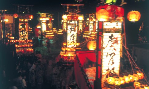 蛸島キリコ祭り