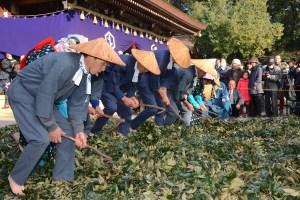 砥鹿神社『田遊祭』