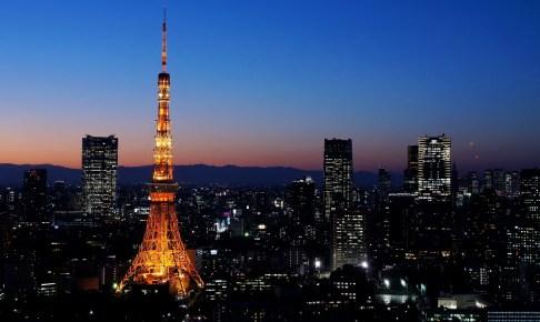 東京タワーウィンターファンタジー~オレンジ・イルミネーション~