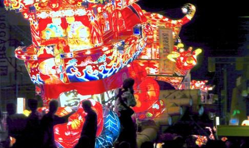 となみ夜高まつり|砺波市