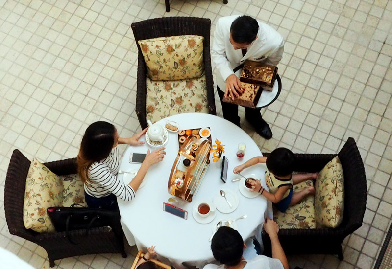 マジェスティックホテル・クアラルンプールのクラブラウンジをご紹介