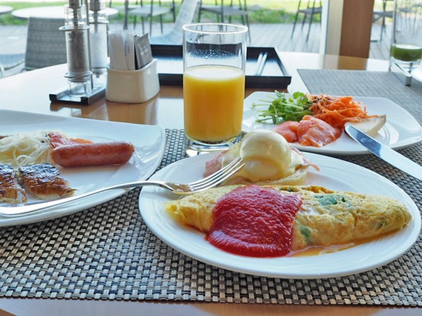ヒルトンお台場シースケープの朝食