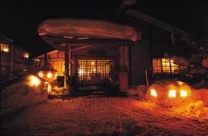 ランプの宿「青荷温泉」