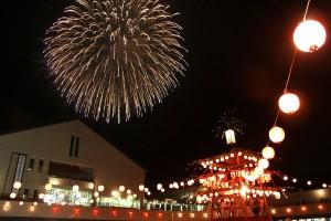 祭りと花火