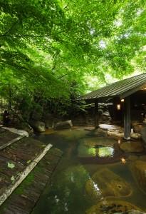 旅館山河露天風呂