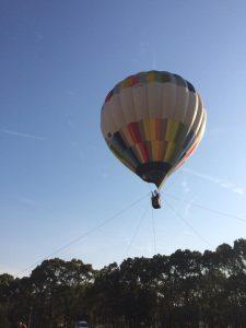熱気球係留体験搭乗会