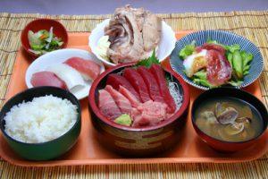 土浦魚市場食事